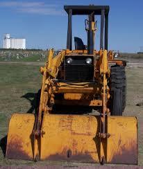 1974 case 480b construction king backhoe item 7370 sold