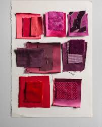Color Aubergine Dedar Fabric Pink Violet Red Aubergine Fuchsia