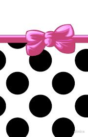 and white polka dot ribbon black and pink polka dot background polka dots ribbon and bow
