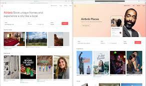 homepage designer newly simplified airbnb homepage designer news