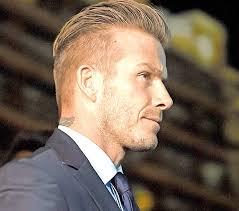undercut hairstyle back view david beckham hairstyle trendy