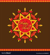 Diwali Greeting Card Design