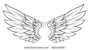 wings in flight free vector stock graphics images