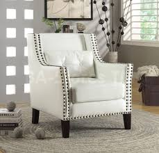 White Accent Chair Accent Chairs For White Leather Sofa Leather Sofa