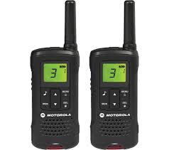 buy motorola tlker 61 walkie talkies black free delivery currys