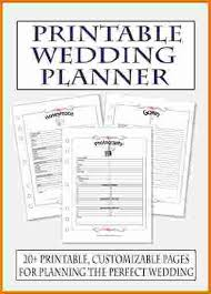 free wedding planner binder printable wedding planner wedding photography