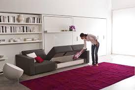 lit escamotable avec canapé lit escamotable modèle swing 3 esprit rangement
