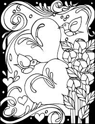heart colouring patterns book free valentine coloring book