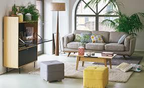 coin bureau dans salon bureau dans pièce à vivre comment intégrer un bureau dans un salon