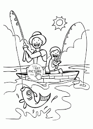 super dad coloring page for kids father u0027s day coloring pages