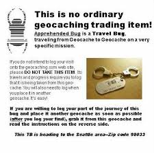 travel bug images Create a geocache travel bug instruction sheet techblazer jpg