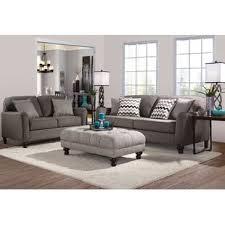 gray living room sets fabric living room sets wayfair
