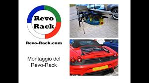 Porsche Boxster Bike Rack - revo rack mx5 124 spider slk sl z4 u0026 boxster portapacchi youtube