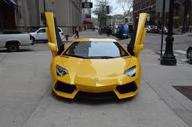 2014 Lamborghini Aventador Coupe - 2014 lamborghini aventador coupe cars giallo orion pearl yellow