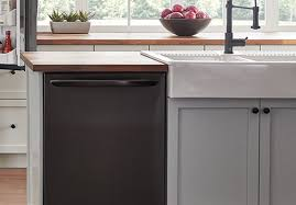 gray kitchen cabinets with black stainless steel appliances how to clean and maintain black stainless steel appliances