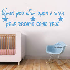 home sweet home wall art sticker quote large decor when you wish upon a star dream wall sticker design tra