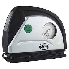 cigarette lighter fan autozone slime portable 12 volt tire inflator with built in gauge and light
