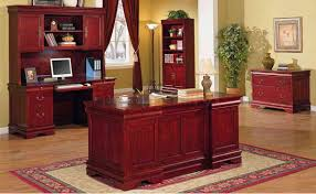 renovate your home design studio with fancy mahogany