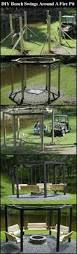 dragon fire pit diy bench swings around a fire pit pictures photos and images