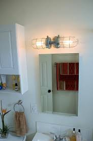 Sconce Mirror Wall Sconce Industrial Industrial Bathroom Sconce Mirror White