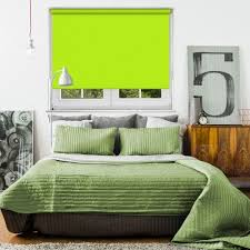Lime Green Blackout Curtains 30 Best Bedroom Blinds Images On Pinterest Bedroom Blinds