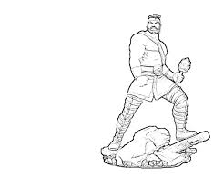hercules coloring page hercules funny avondale style