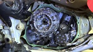 honda atv clutch replacement 400ex partzilla com youtube