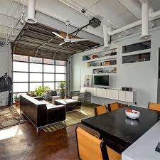 garage living space living room fine garage living room pertaining to endearing