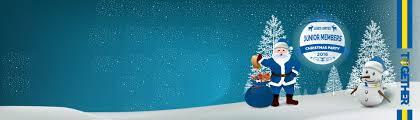 junior members christmas party returns leeds united