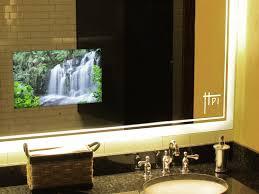 bathroom mirror with tv 82 enchanting ideas with vanity mirror tv