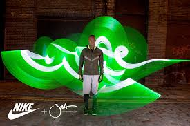 Nike Light Light Graffiti And Light Painting By Artist Sola Nike Running