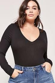Plus Size Bodysuit Blouse Plus Size Bodysuits Forever21