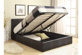 Richmond Bed Frame Richmond Grey Fabric Ottoman Storage Bed Ottoman