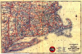 Map New England by File 1929 New England Road Map Jpg Wikimedia Commons