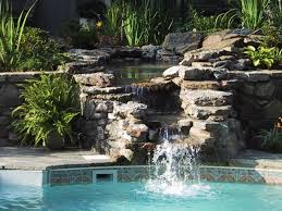 pool waterfall ideas u2014 home landscapings swimming pool