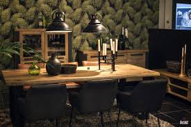 Unique Interior Lighting Setting A Natural Upgrade 25 Wooden Tables To Brighten Your Dining Room
