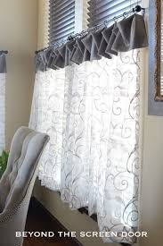 Plastic Cafe Curtains 27 Best Cafe Curtains Images On Pinterest Kitchen Windows