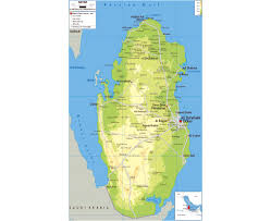Map Of Bahrain Maps Of Qatar Detailed Map Of Qatar In English Tourist Map