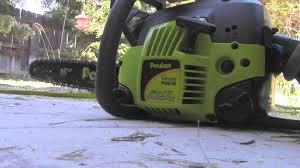 poulan p3816 chainsaw youtube