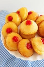 the comfort of cooking mini pineapple upside down cakes make