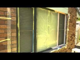 How To Paint Interior Windows Aluminium Window Respray Youtube