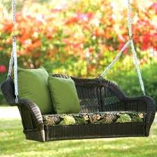 outdoor wicker swings get quotations a savage valley double