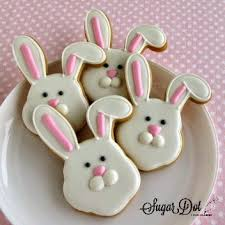 rabbit cookies sugar dot cookies easter bunny and sugar cookies