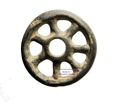 celtic ring money outstanding ancient celtic ring proto money rouelle or wheel