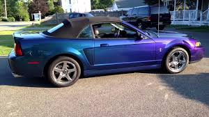 2003 Black Mustang Convertible 04 Mystichrome Cobra Convertible Purple Blue Green Black Ford
