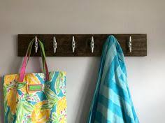 nautical coat rack with four cleats blackironworks pinterest
