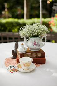 Homemade Table Centerpieces For Parties by Best 20 Teacup Centerpieces Ideas On Pinterest Tea Party
