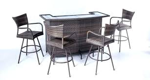 fancy patio bar sets finding your own style of outdoor patio bar