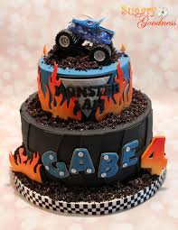 when is the monster truck show monster truck 3rd birthday cake beautiful cakes pinterest
