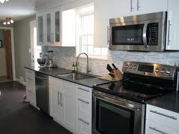 Stainless Steel Kitchen Cabinet Doors Stainless Steel Kitchen Cabinets Ikea Example Of A Mid Sized